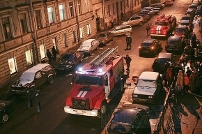 В Петербурге из-за пожара на улице Марата эвакуировали жильцов