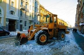 Петербург наконец-то получил недостающие снегоуборщики
