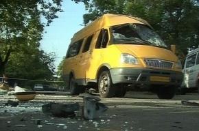 В Москве маршрутка сбила пешехода на «зебре» и перевернулась