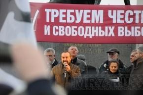 Митингующим дали только половину Конюшенной площади