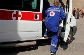 В Петербурге столкнулись автобус и грузовик