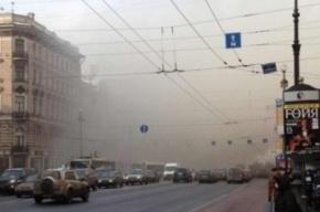 Невский проспект перекрыт из-за горящего дворца