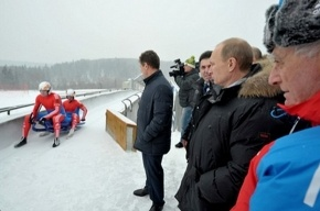 Владимир Путин занялся бобслеем