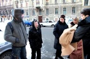 В центре Петербурга вновь искали бомжей