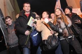 В Петербург приехал Михаил Прохоров (фото)