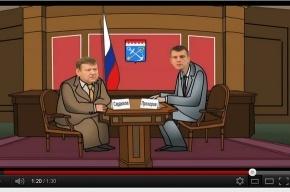 Сердюков по Интернет послал Прохорова  в ж…у