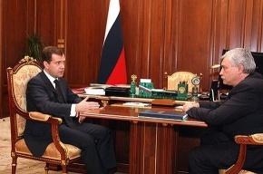 За аварии в Колпино и Купчино Полтавченко держал ответ перед Медведевым
