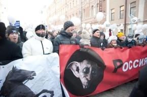 Организаторы марша «За честные выборы»: В шествии приняло участие около 20 тысяч человек (фото)