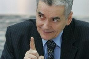 Онищенко пригрозил участникам митинга морозами