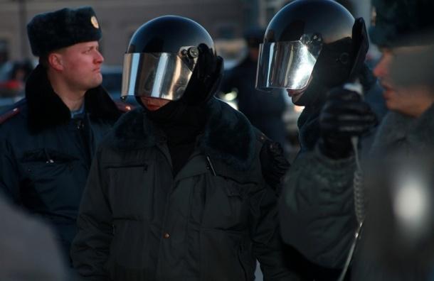 Митинг 6 марта: полиция повязала художников и курильщиков