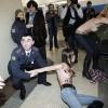 Фоторепортаж: «Активисток FEMEN, оголившихся на участке Путина, выдворят из России»