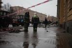 При взрыве ресторана «Харбин» пострадала прохожая: Фоторепортаж
