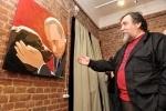 Фоторепортаж: «Добрейшей души человек (выставка портретов Путина)»