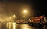 Фоторепортаж: «пожар васильевский»