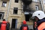 Фоторепортаж: «В ресторане «Харбин» взорвался газовый баллон»