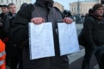 На Исаакиевскую площадь пришло всего 500 человек: Фоторепортаж