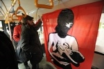 Автобус в поддержку Pussy Riot : Фоторепортаж