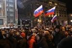 Фоторепортаж: «Путин будет новым президентом России, второго тура не будет»