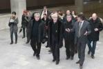 Фоторепортаж: «Георгий Полтавченко проголосовал в Петроградском районе»