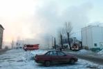 Пожар в гипермаркете К-Раута: Фоторепортаж