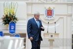 Полтавченко расстраивается неубранному городу, но радуется весне и улыбке Валуева: Фоторепортаж