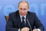 Путин заплакал, произнося речь на Манежной: Фоторепортаж