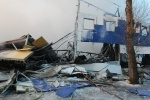 Фоторепортаж: «Пожар в гипермаркете К-Раута»