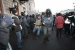 Фоторепортаж: «На Исаакиевскую площадь пришло всего 500 человек»