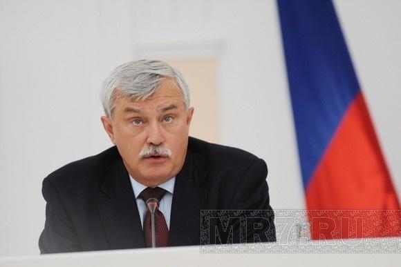 Георгий Полтавченко проголосовал в Петроградском районе: Фото