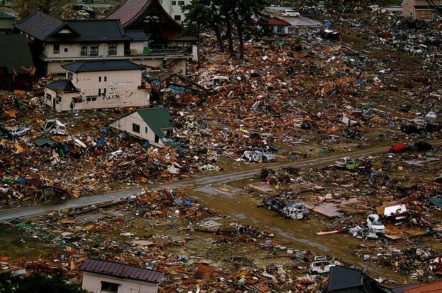 землетрясение в Японии в марте 2011 года. Фото: flickr: Фото