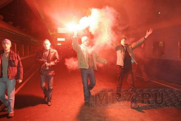 Фанаты «Зенита»: Фото