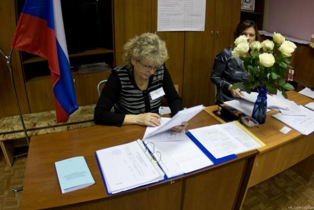 На участке в Московском районе Путину «нарисовали» 90% голосов: Фото