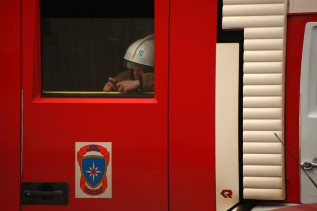 Завод ЛОМО горит: Фото