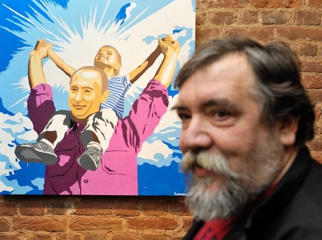 Добрейшей души человек (выставка портретов Путина): Фото