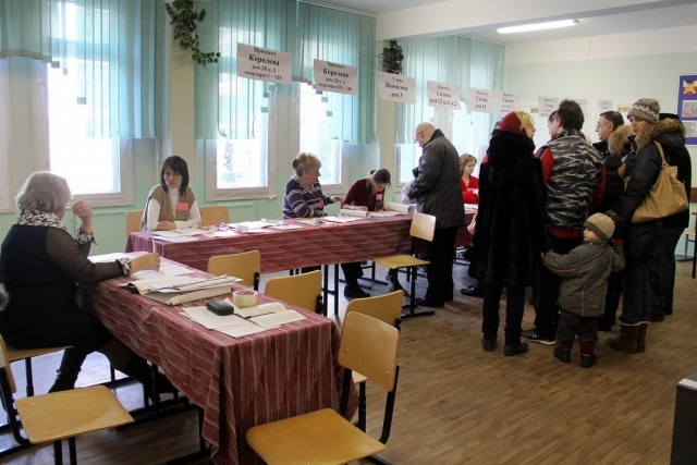 Россияне умирают на избирательных участках: Фото