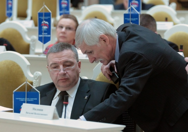 Заседание ЗС СПб: Фото