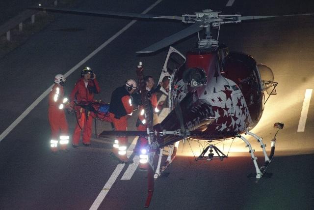 автобус с детьми разбился в Швейцарии: Фото