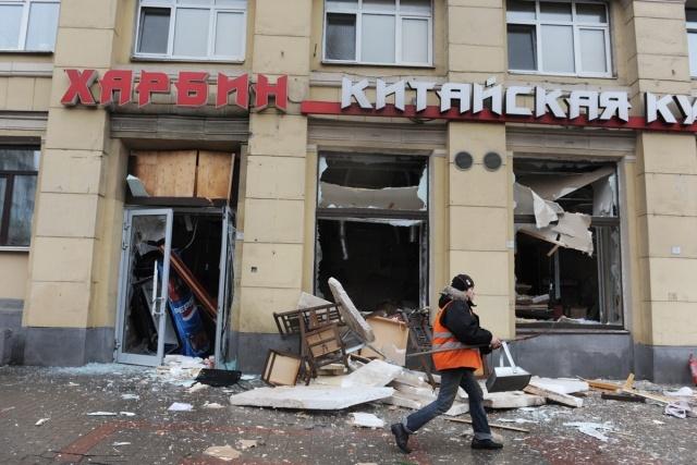 При взрыве ресторана «Харбин» пострадала прохожая: Фото