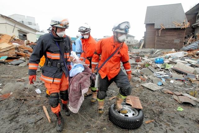 Землетрясение в Японии: Фото