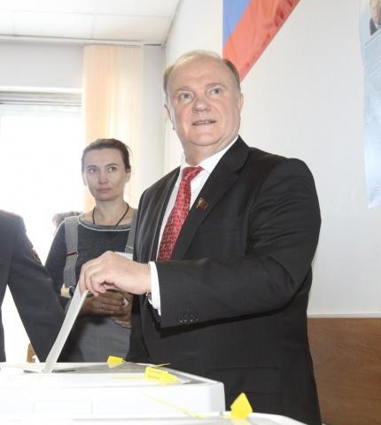 Геннадий Зюганов: Фото