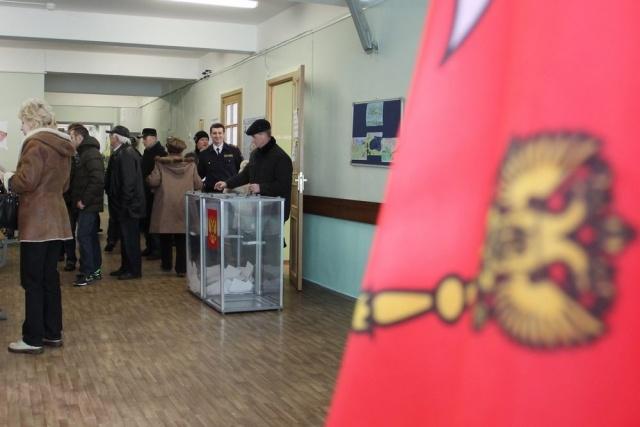 На выборы в Петербурге пришла лишь половина избирателей: Фото