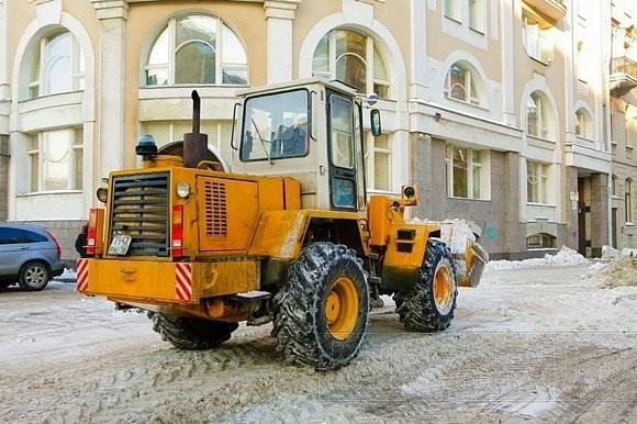 Уборка снега: Фото