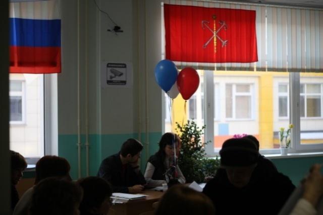 За Путина в Петербурге проголосовало почти 1,5 миллиона: Фото