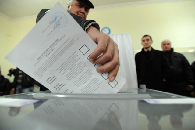 южная осетия выборы: Фото