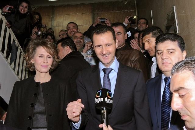 Башар Асад: Фото