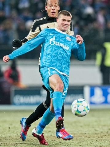 Футболист Игорь Денисов стал лучшим игроком «Зенита»: Фото