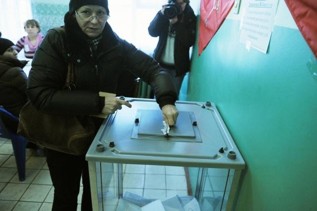 В Петербурге под конец подсчета голосов Путин скатился до 58%: Фото