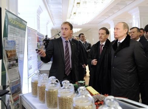 Путин в Воронеже, 28 марта 2012 г.: Фото