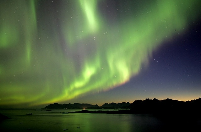 северное сияние: Фото
