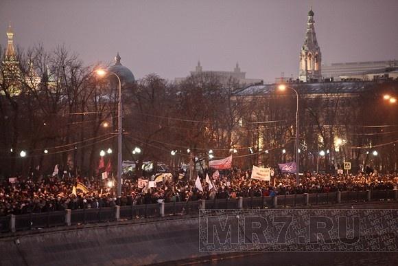 В Москве недовольным выборами разрешили митинговать на Пушкинской: Фото